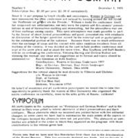 December 1976 Newsletter
